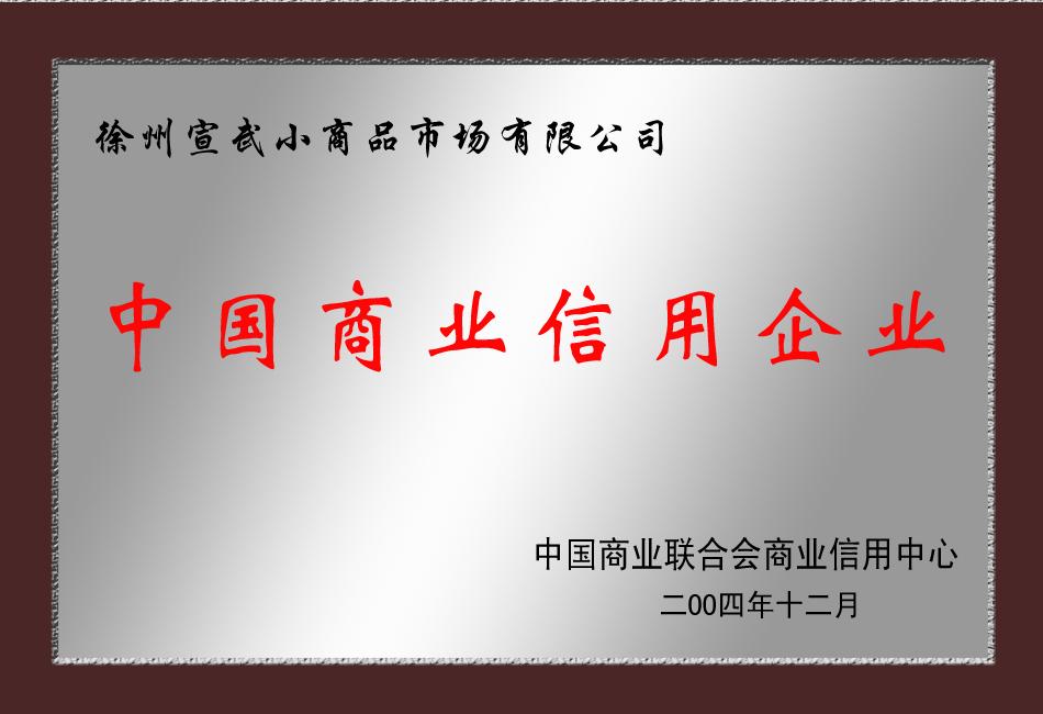 中国商业信用企业