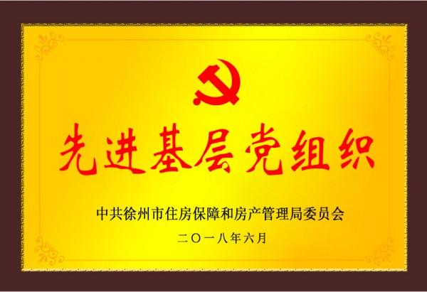 集团党委党建工作获局先进表彰